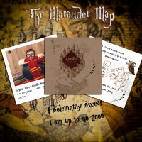 faire-part naissance theme harry potter