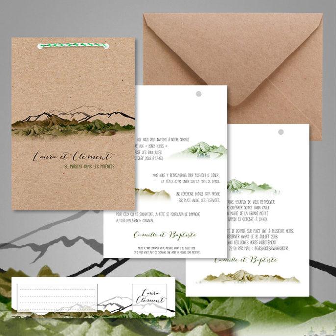 faire-part-mariage-ecoresponsable-en-papier-recyclé-theme-montagne-1