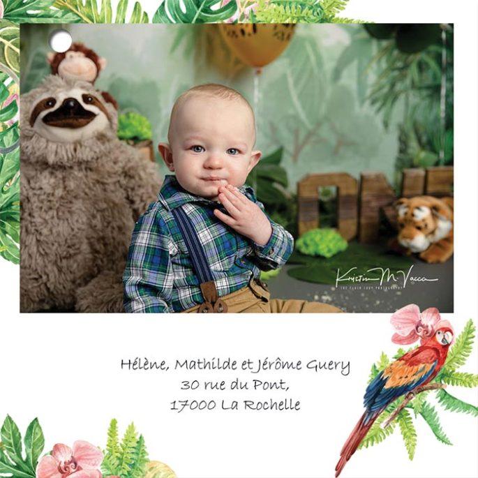 feuillet-photo-faire-part-naissance-en-papier-recyclé-ecologique-jungle