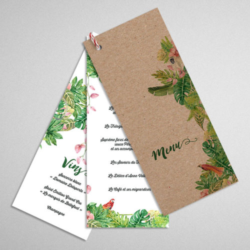 menu-mariage-theme-jungle-1